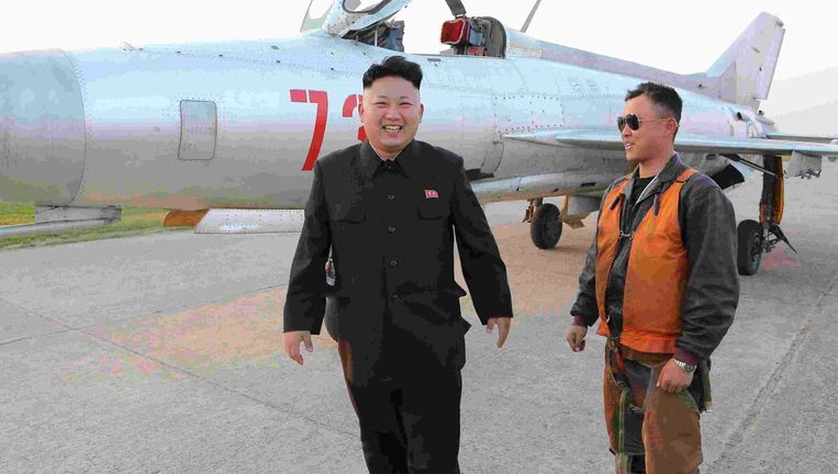 De Noord-Koreaanse leider Kim Jong Un Beeld REUTERS