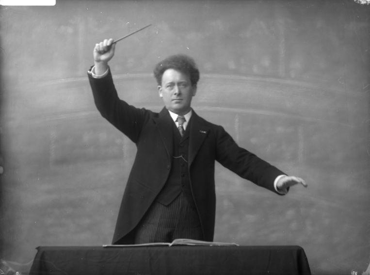 Dirigent Willem Mengelberg. Beeld Stadsarchief Amsterdam