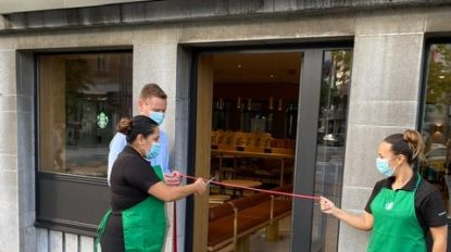 Station van Hasselt verwelkomt eerste filiaal van Starbucks in Limburg