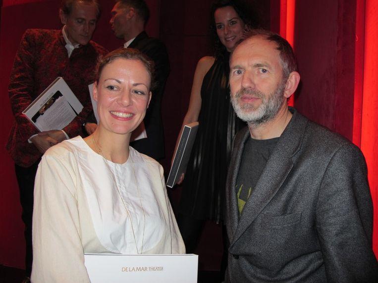 Viviane Sassen en Anton Corbijn, fotografiegrootheden. <br /> Beeld