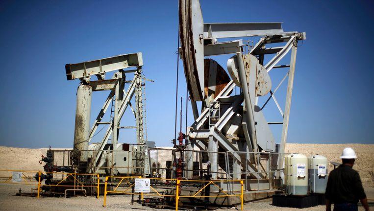 Boren naar schaliegas in de Verenigde Staten.