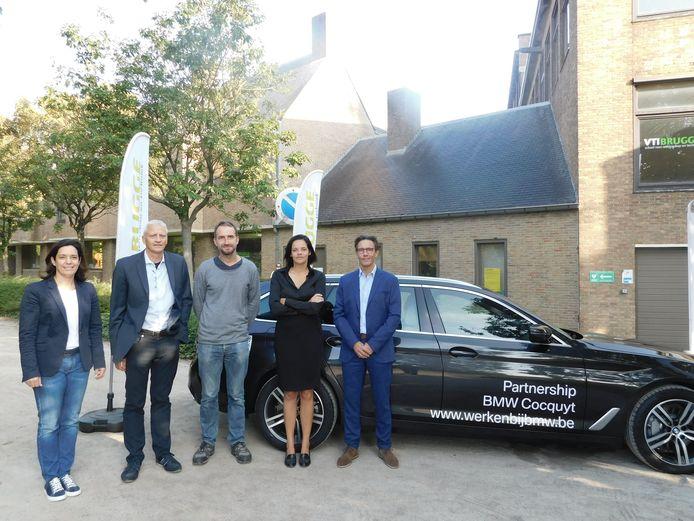 In het VTI van Brugge zijn ze maar wat blij met de nieuwe BMW.