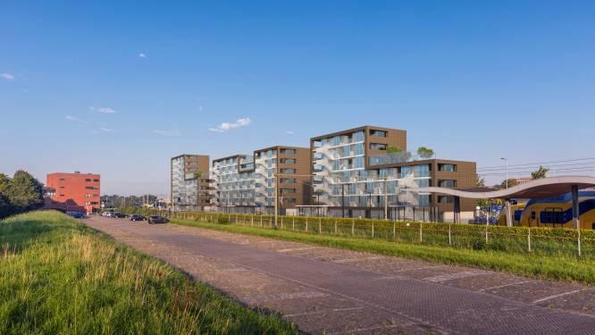 Door de vorm van deze studentenflats staat Middelburg voor lul
