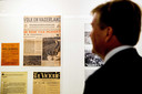 De koning brengt een werkbezoek aan het Instituut voor oorlogs-, holocaust- en genocidestudies