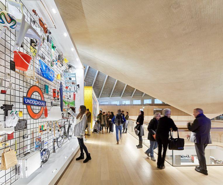 het nieuwe Design Museum in Holland Park. Beeld