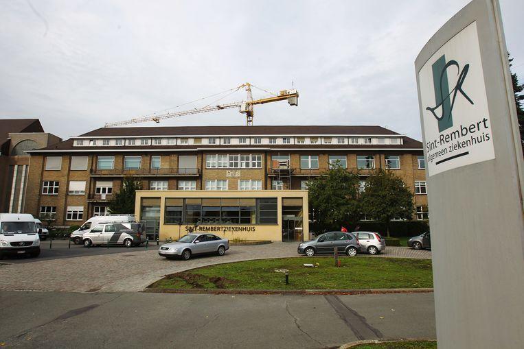 Het Sint-Rembertziekenhuis in Torhout