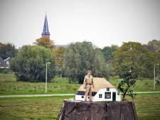 Kunstenaar bouwt 'eilandje van geluk' in Lent