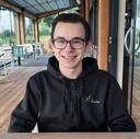 """Andy Wernke uit Emmeloord doet dit jaar vwo-examen: ,,Ik denk dat ik er wel klaar voor ben, maar er zit natuurlijk wel gezonde spanning bij."""""""