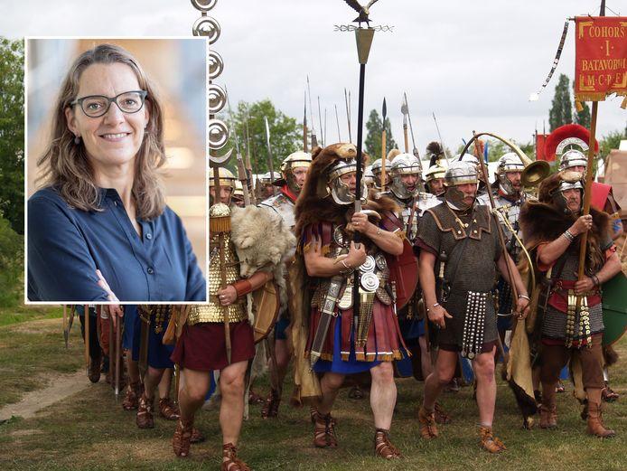 Archeologe Saskia Stevens gaat onderzoek doen naar de limes, de grens van het Romeinse Rijk die dwars door Nederland liep.