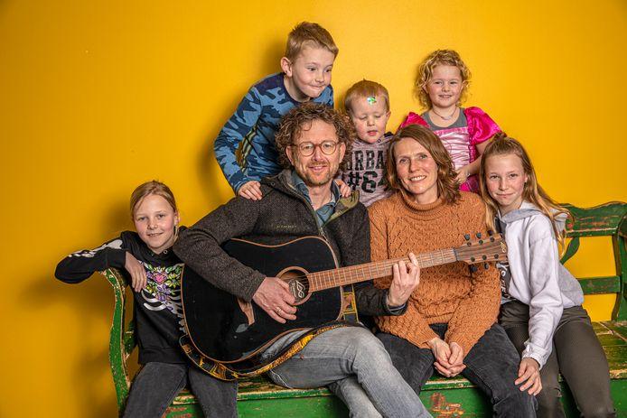 Het gezin Veuger.