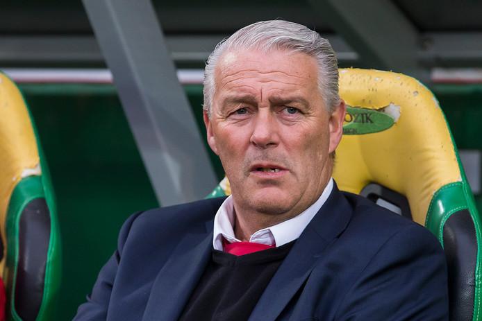 Hans de Koning: bij zijn achtste klus als hoofdtrainer voor het eerst voortijdig aan de kant geschoven.