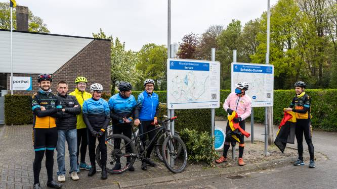 """Mountainbikers tevreden met vernieuwde 'Broekbosroute': """"Veel meer uitdaging dan vroeger"""""""