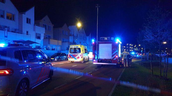 Bij het ongeluk in Enschede kwamen twee mannen om het leven.