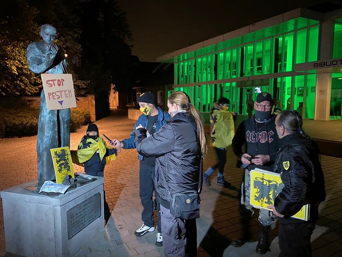 Les extrémistes flamands voulaient réagir à l'agression