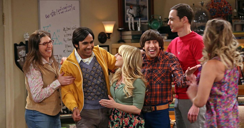 De cast van The Big Bang Theory Beeld RV