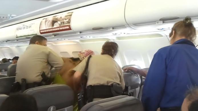 Ruzie in het vliegtuig