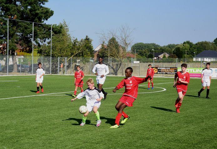 Het werd een sportief weekend op de terreinen van FC. Galmaarden