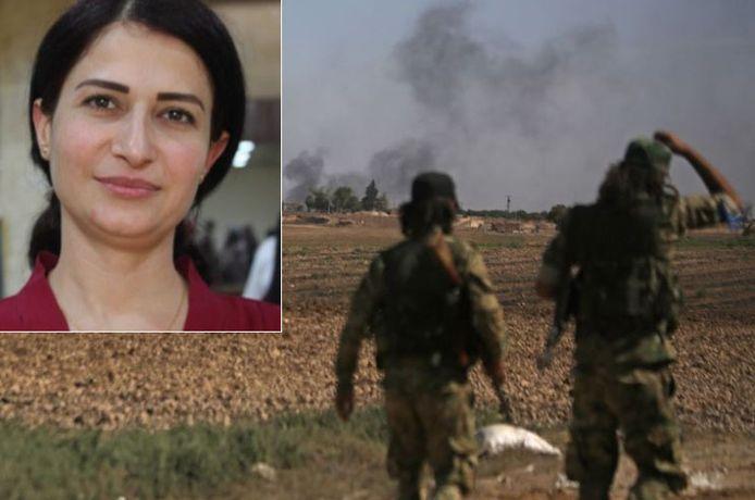 De Koerdische politica Hevrin Khalaf zou zijn geëxecuteerd.