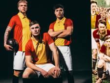 Go Ahead verpulvert Helmond Sport in retroshirt met 'Hengeloos' logo