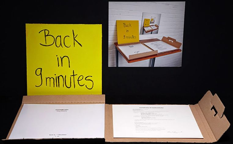 Dina Danish: Back in 9 Minutes, 2012. Beeld Fine Arts Museums of San Francisco