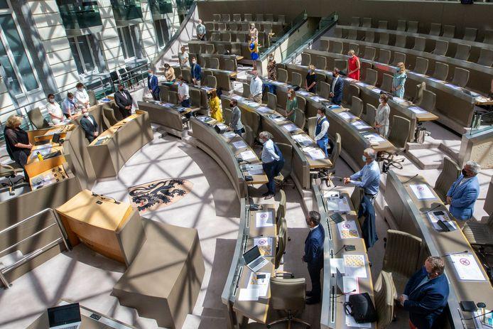 Het Vlaams Parlement. BELGA PHOTO NICOLAS MAETERLINCK