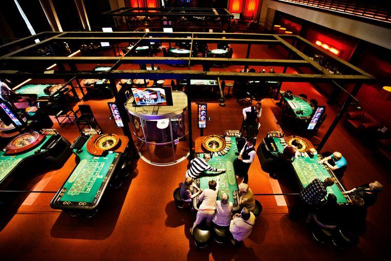 Het  casino van Oostende. Beeld jonas lampens