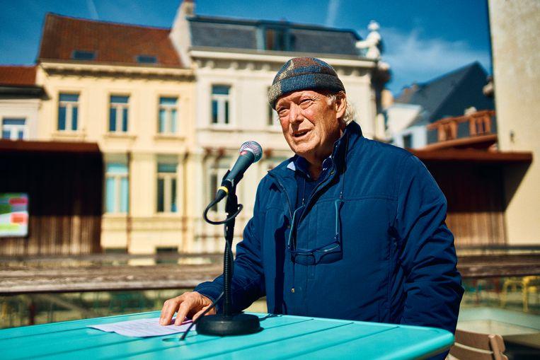 Erik Temmerman, voormalig directeur en medeoprichter van het kunstencentrum: ' Trouw blijven aan de uitgangspunten van het kunstencentrum uit 1982 betekent dat het kunstencentrum een nieuwe naam moet krijgen.' Beeld Thomas Nolf