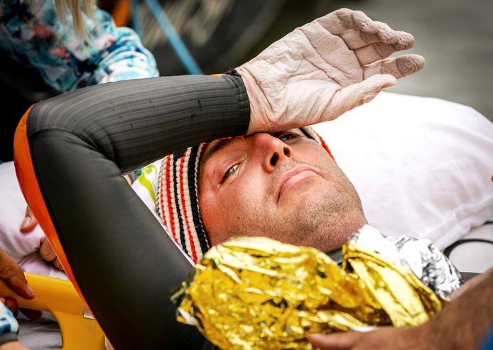 Na 55 uur zwemmen moest Maarten van der Weijden vorig jaar opgeven.