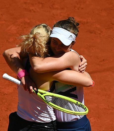 Krejcikova flikt het: na enkelspel wint Tsjechische ook dubbelspel Roland Garros