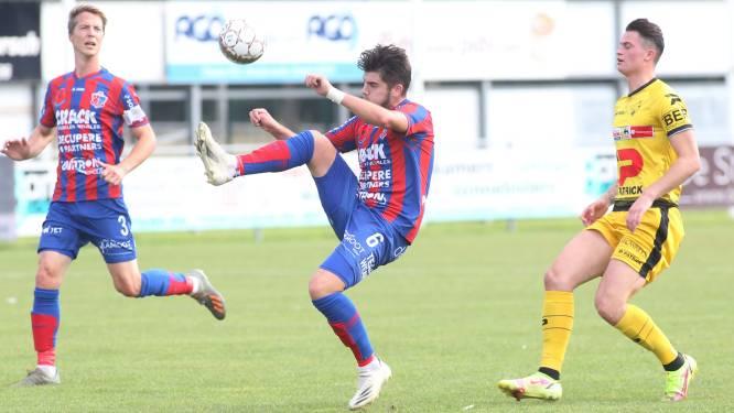 """Valentin Mahieu helpt Westhoek aan verdiende zege tegen Oudenaarde: """"Voetballend waren we beter"""""""