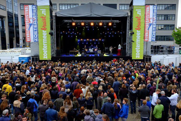 Een van de grootste evenementen van Zoetermeer: het Bevrijdingsfestival.