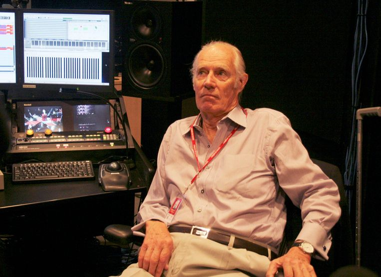 Sir George Martin, de zopas overleden producer. Beeld Photo News