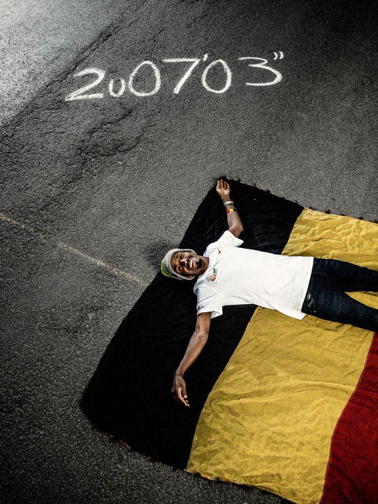 'Ik mis Somalië totaal niet. Alles wat ik ginder had, heb ik nu ook, maar béter. Het Belgische weer neem ik er wel bij.' Beeld Jelle Vermeersch/Humo