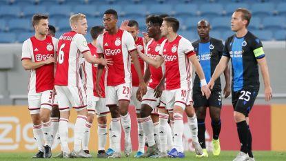 Een niveauverschil: Club Brugge niet opgewassen tegen sterk Ajax (3-1), bekijk hier de goals