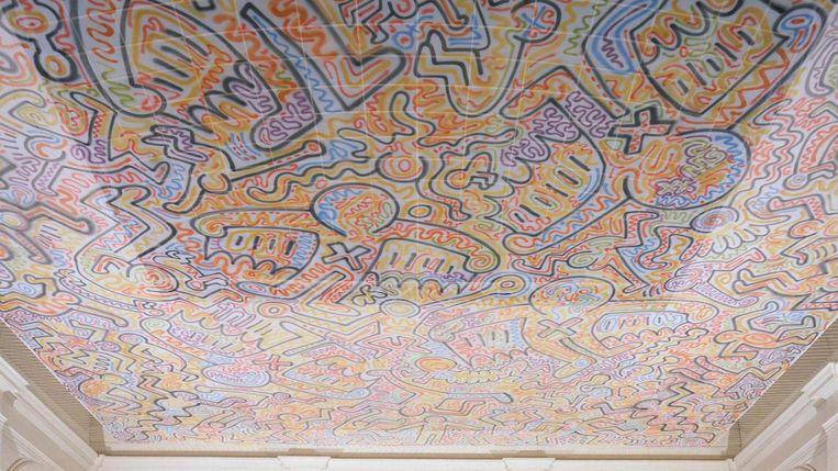 Keith Haring groeide van graffitikunstenaar in het New York van de jaren tachtig uit tot internationaal gevierd beeldend kunstenaar Beeld Keith Haring Foundation