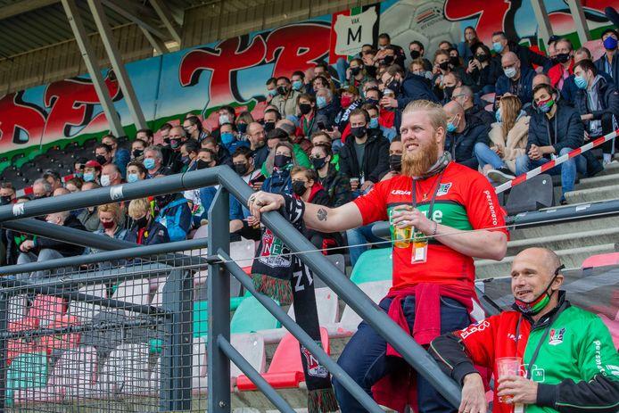 NEC speelde tegen De Graafschap voor ruim duizend man publiek.