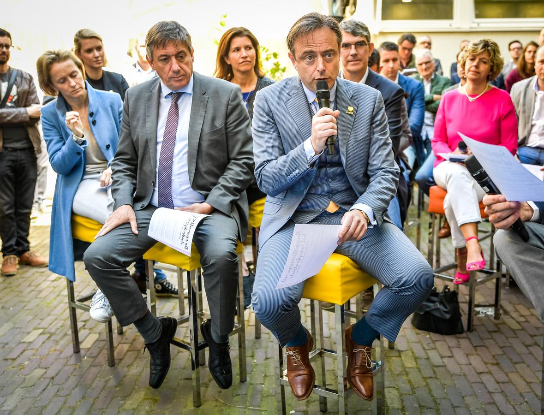 Jan Jambon en Bart De Wever.