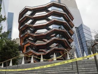 Vierde zelfmoord in anderhalf jaar tijd: futuristische trappentoren in New York sluit mogelijk definitief de deuren