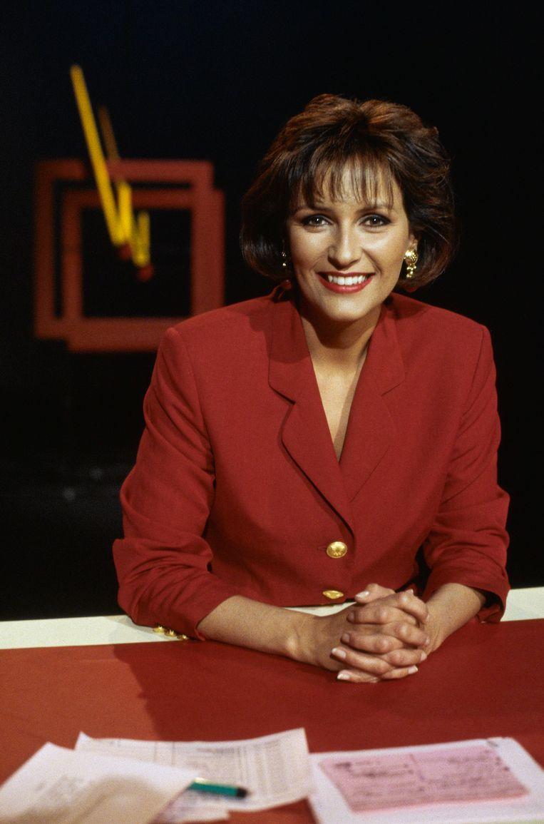 Astrid Joosten in 1991.  Beeld ANP