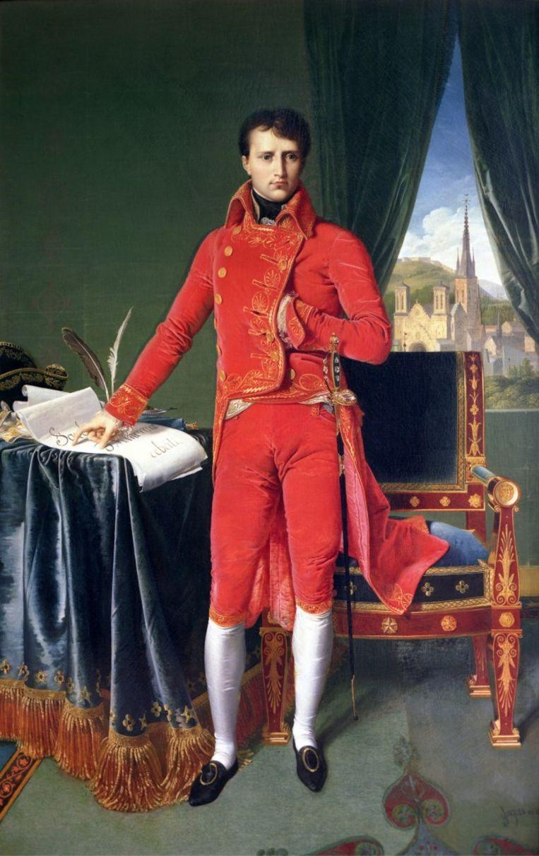 Napoleon Bonaparte op de expo in Luik. Beeld rv
