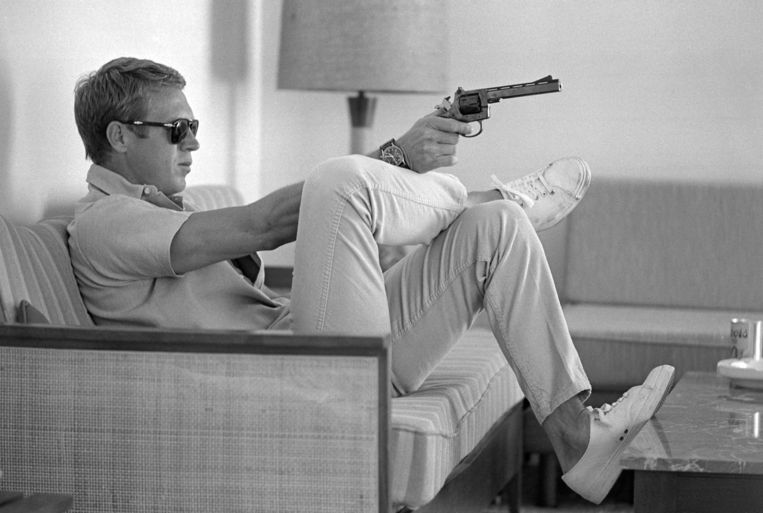 Steve McQueen. Beeld Getty Images