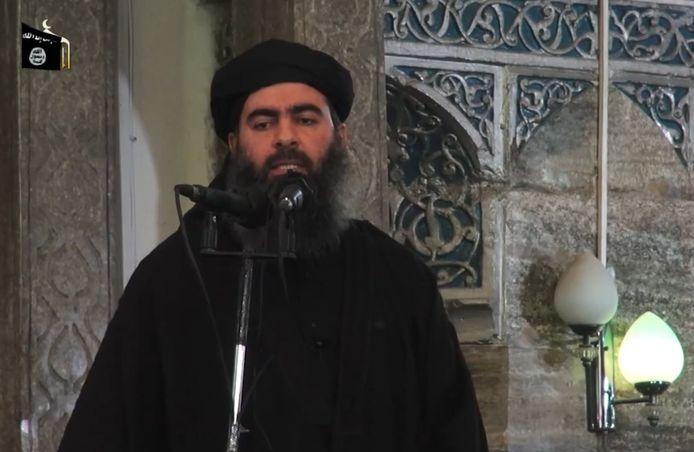 Aboe Bakr al-Baghdadi in 2014.
