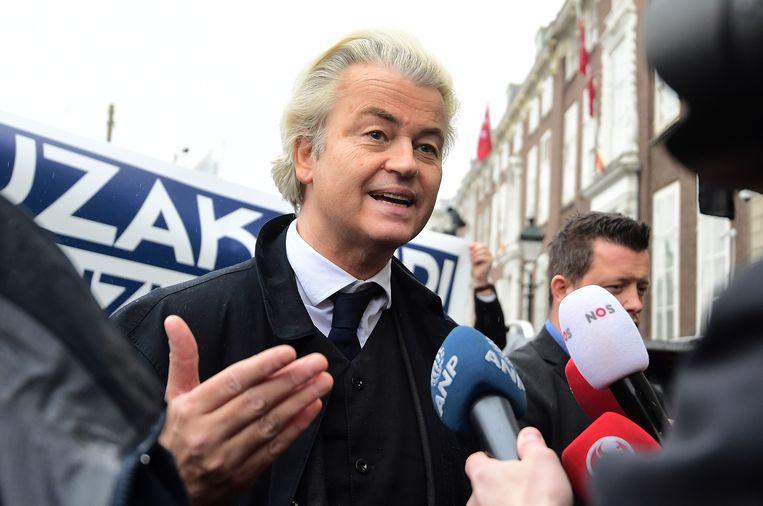 Geert Wilders Beeld AFP