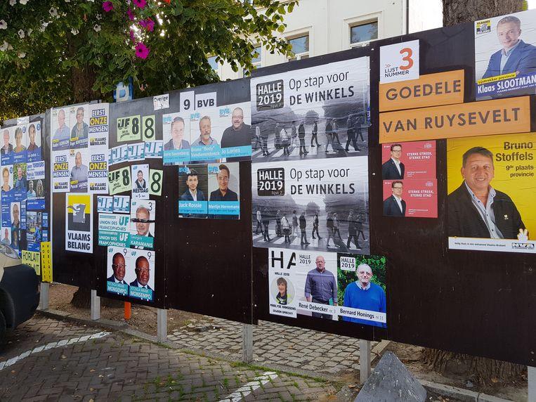 Halle - Verkiezingen Halle