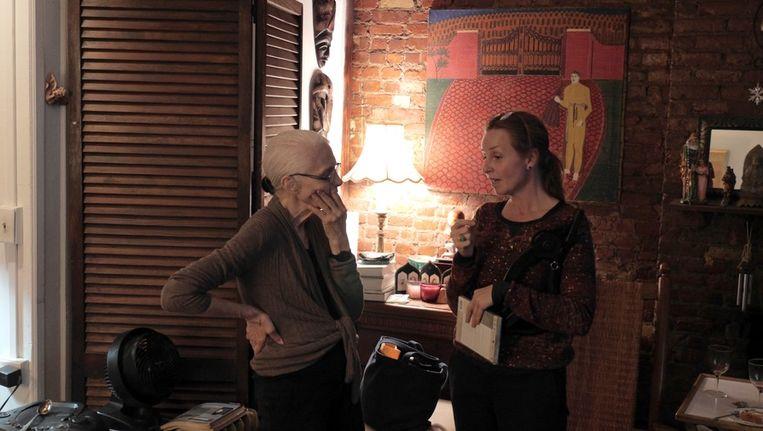 Louise Greaves en Barbara Visser Beeld IDFA