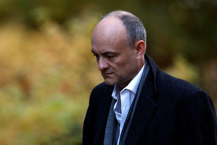 Dominic Cummings zal volgens verschillende Britse media tegen kerstmis zijn rol hebben neergelegd. Beeld REUTERS