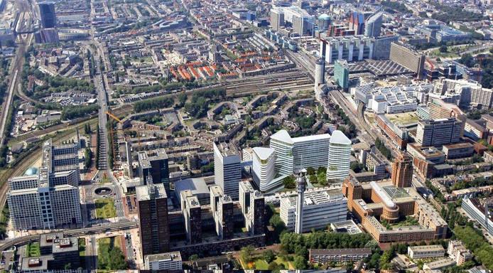 Het Central Innovation District in Den Haag.