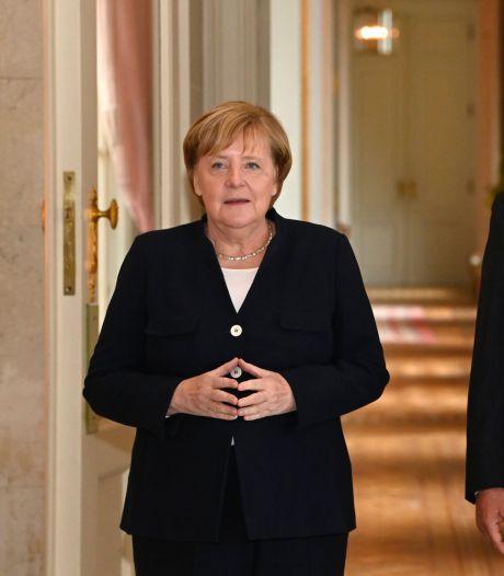 Angela Merkel reçoit la plus haute distinction honorifique belge