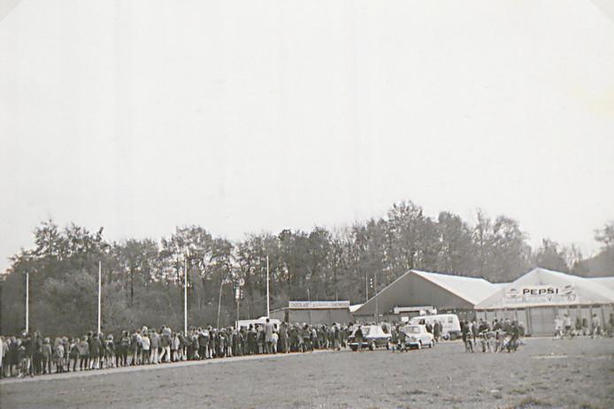 De oktoberRevolutie Vught '67 (RV'67) trok vijftig jaar geleden veel publiek.