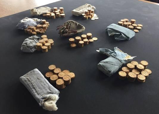 Er is geen rechtmatige eigenaar gevonden van de 913 gouden munten.